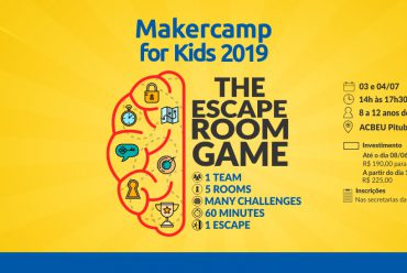 Makercamp for Kids 2019! Escape room