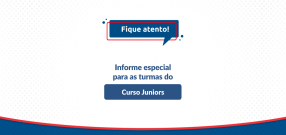 Informe ACBEU | Turmas do Curso Juniors