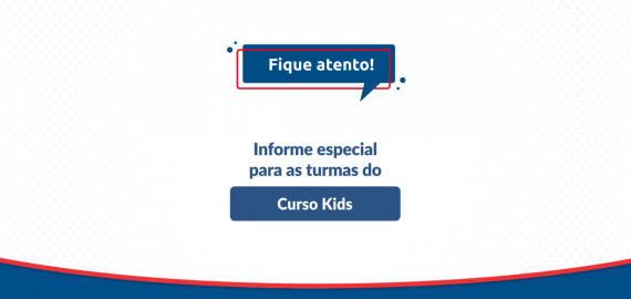 Informe ACBEU | Turmas do Curso Kids