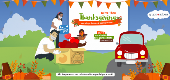 Thanksgiving Day | Drive Thru Solidário