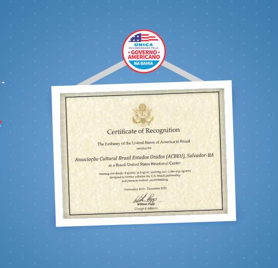 ACBEU | Certificado de Excelência