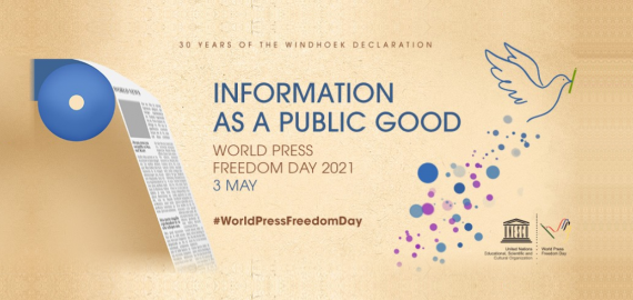 UNESCO | World Press Freedom Day 2021