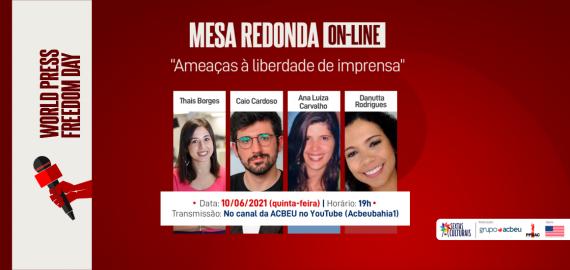 Mesa Redonda on-line – World Press Freedom Day